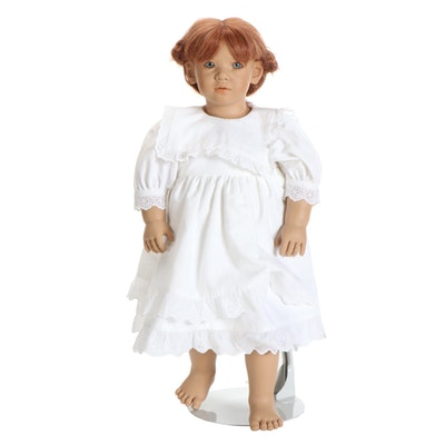"""26"""" Annette Himstedt """"Liliane"""" Hard Vinyl Doll, 1991"""