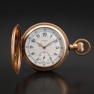 1913 Elgin Hunting Case Pocket Watch