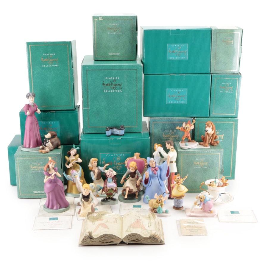 "Walt Disney Classics Collection ""Cinderella"" Ceramic Figurines"