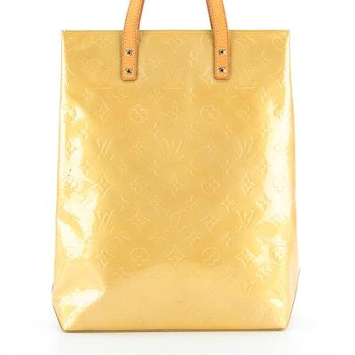 Louis Vuitton Reade MM Bag in Monogram Vernis