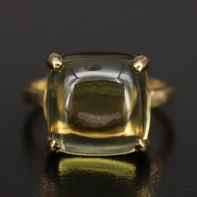 "Paloma Picasso for Tiffany & Co. 18K  ""Sugar Stack"" Quartz Ring"