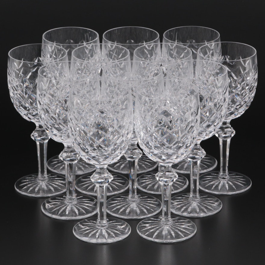 """Waterford Crystal """"Powerscourt"""" Water Goblets"""