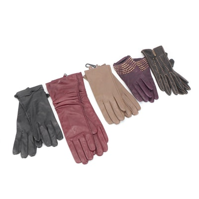 Portolano and Other Leather Gloves