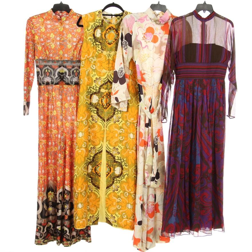 Amelia Gray Chiffon Dress, Questo Jumpsuit and Bangkok Skylight Dress