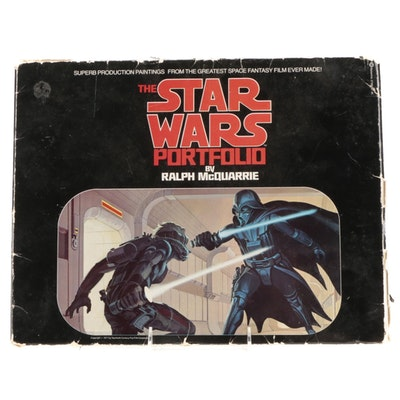 """The Star Wars Portfolio"" By Ralph McQuarrie, 1977"
