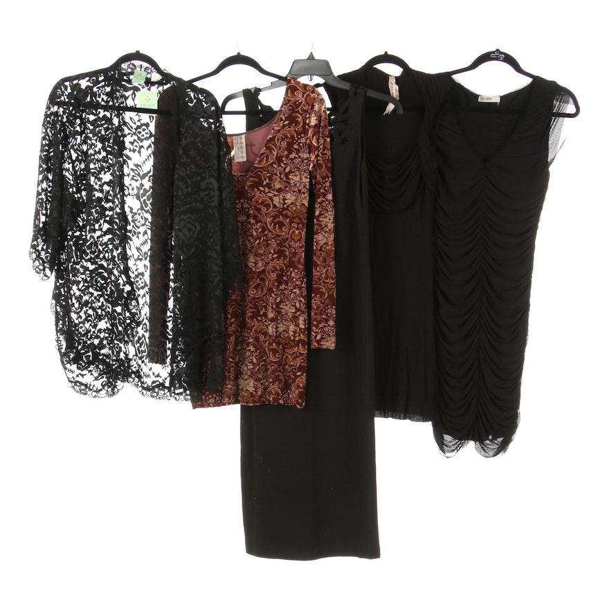 Vivian Tam, B44 Dressed, The Edge - Little Black Dresses with Free People Velvet