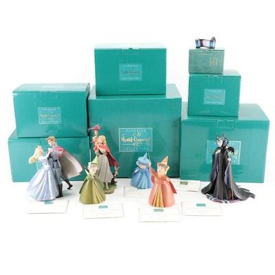 "Walt Disney Classics Collection ""Sleeping Beauty"" Ceramic Figurines"