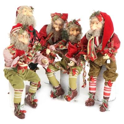Mark Roberts Christmas Elf Figurines