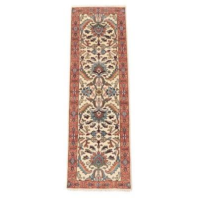 2'5 x 7'11 Hand-Knotted Persian Lilihan Carpet Runner