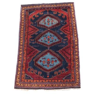 5'5 x 8'3 Hand-Knotted Persian Luri Area Rug