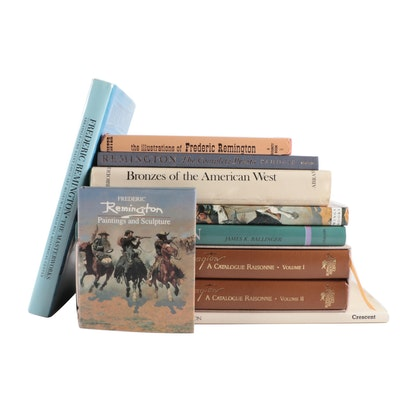 """Signed """"Frederic Remington: A Catalogue Raisonne"""" Two-Volume Set and More"""