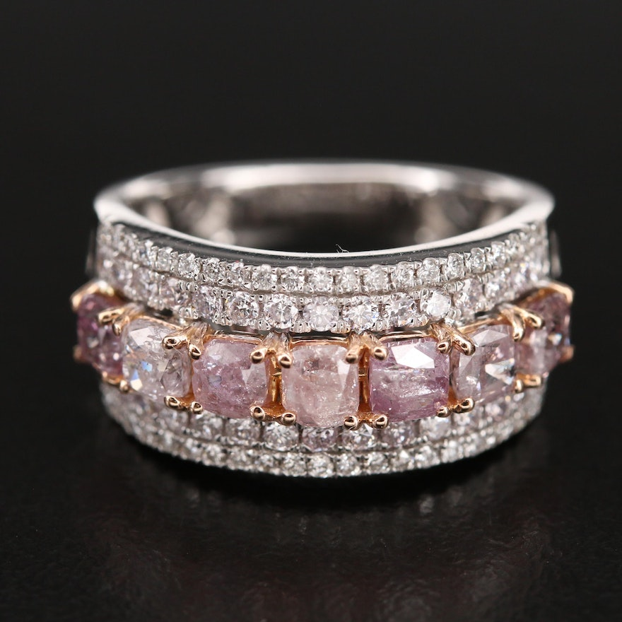 18K 2.60 Diamond Ring with GIA Report