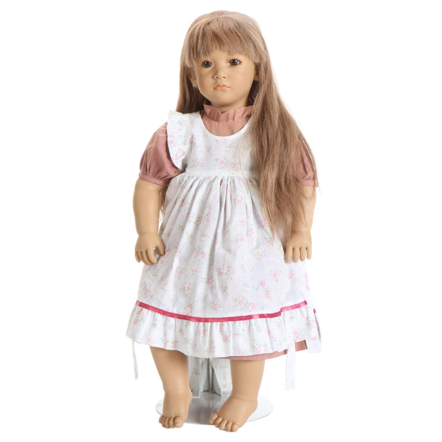 "Annette Himstedt Puppen Kinder Doll ""Neblina"" with COA"