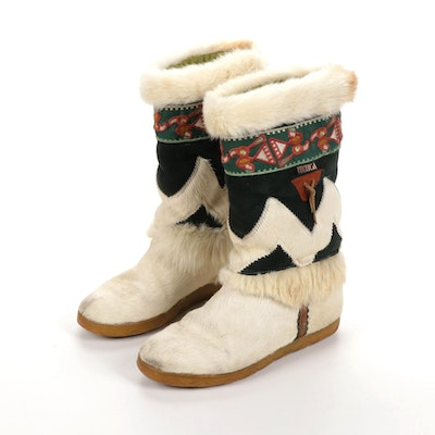 Tenica Italian Fur and Suede Boots