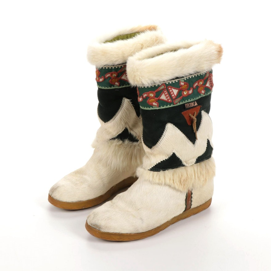 Tecnica Italian Fur and Suede Boots
