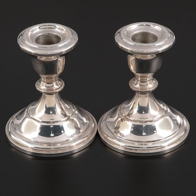 Fisher Sterling Silver Weighted Candle Holders