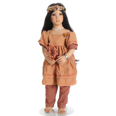 "Annette Himstedt Puppen Kinder Vinyl Doll ""Morgana"""