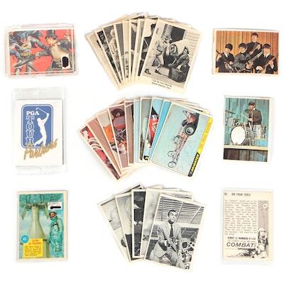 """1960s Cards Featuring The Beatles, """"Batman"""" and """"James Bond Secret Agent 007"""""""