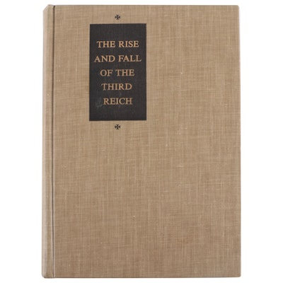 """Early Printing """"The Rise and Fall of the Third Reich"""" by William L. Shirer, 1960"""