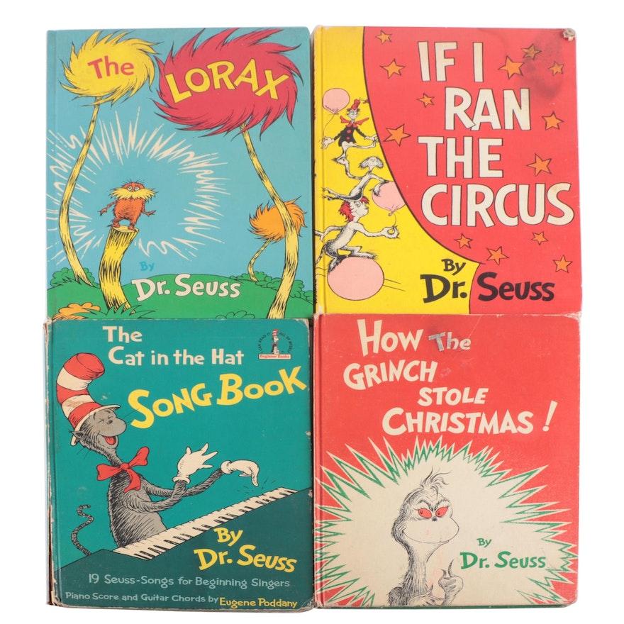 "Book Club Edition ""If I Ran the Circus,"" More Dr. Seuss Books"