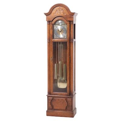 Howard Miller Oak Longcase Clock