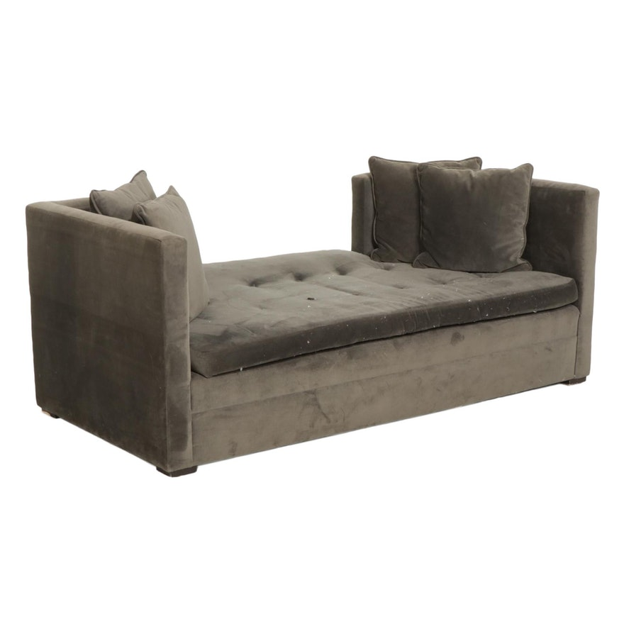 Contemporary Down-Filled Day Bed Settee
