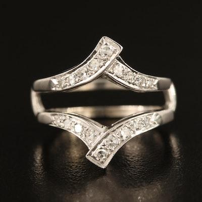 14K 0.32 CTW Diamond Ring Enhancer