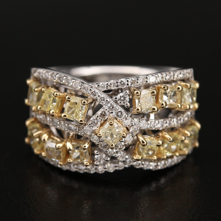 18K 1.84 CTW Diamond Ring