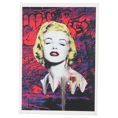Death NYC Pop Art Graphic Print Featuring Marilyn Monroe, 2020