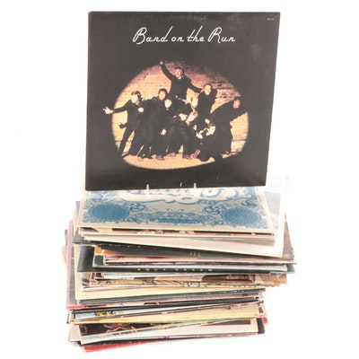 The Beatles, Queen, Diana Ross & The Supremes, Other Vinyl Rock & Pop LP Records