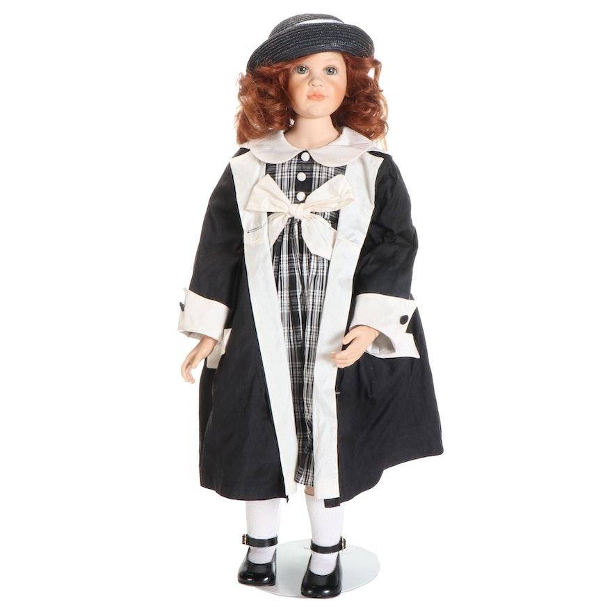 "Hildegard Guzel Porcelain  Limited Edition Doll ""Samantha"""