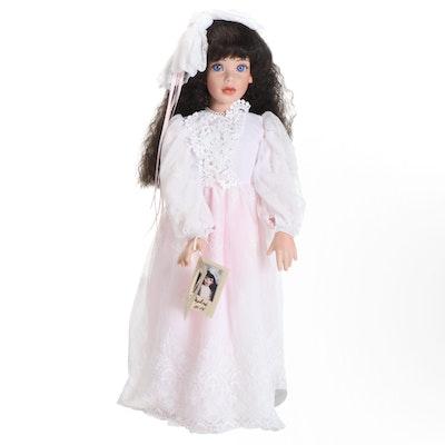 """Elke's Originals Ltd Porcelain Doll """"Daphne"""""""