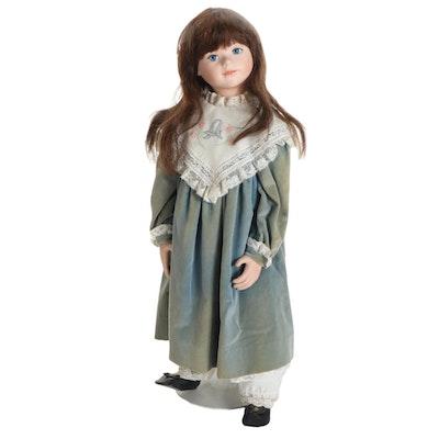 "Hildegard Gunzel German Doll ""Lanina"", 1998"