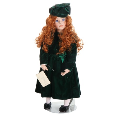 "Elke's Originals Ltd. Porcelain Doll ""Clarrisa"""