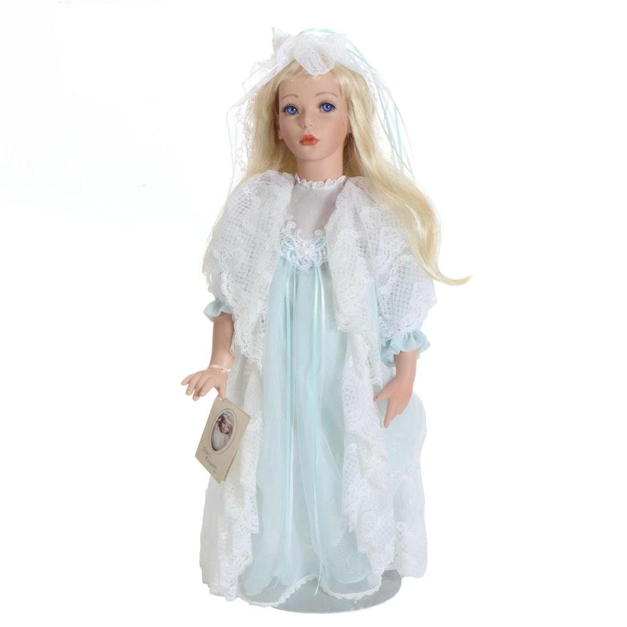 "Elke's Originals Ltd Porcelain Doll ""Deidre/Daphne"" 1993"