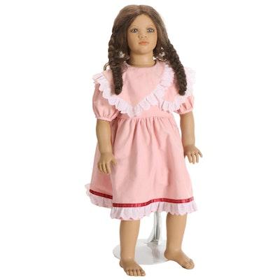 "Annette Himstedt Porcelain Doll ""Lona"", with COA"