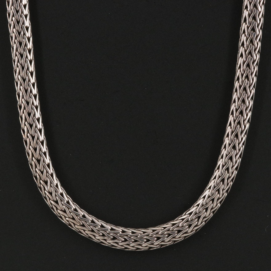"""John Hardy Sterling Silver """"Classic Chain"""" Necklace"""