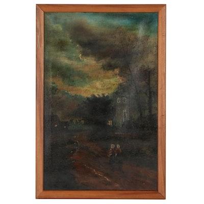 Eloise Wiggins Figurative Landscape Oil Painting