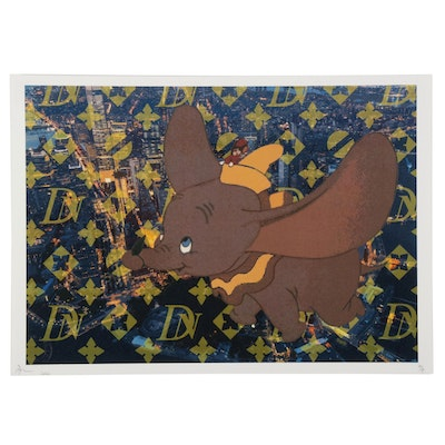 Death NYC Pop Art Graphic Print Featuring Dumbo, 2020