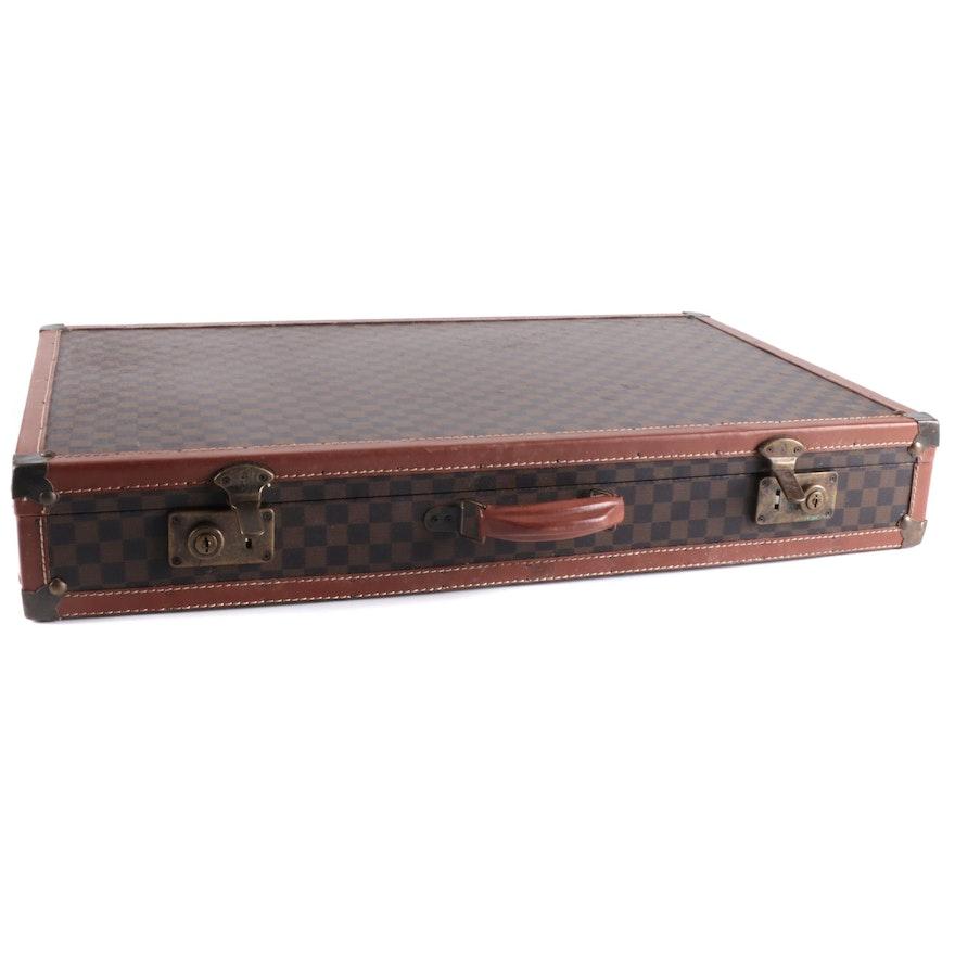 Designer Decorative Briefcase Style Storage Box