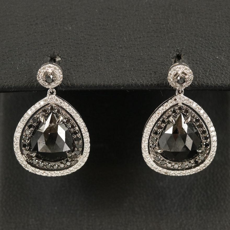 14K 1.13 CTW Diamond Earrings