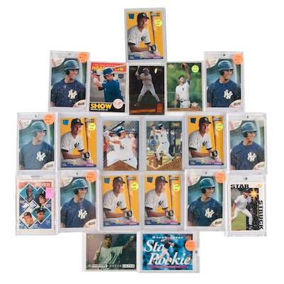 1990s Derek Jeter Upper Deck, Topps, Classic, and Other Prospect Cards