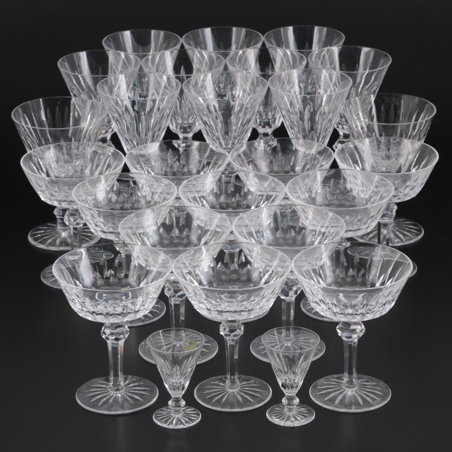 """Waterford Crystal """"Tramore"""", """"Eileen"""" and """"Shandon"""" Stemware"""