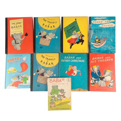 """""""Babar"""" Children's Story Book Collection"""