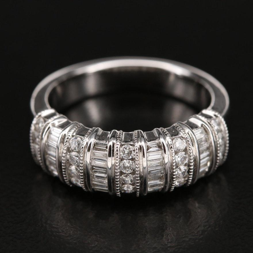14K 0.65 CTW Diamond Band