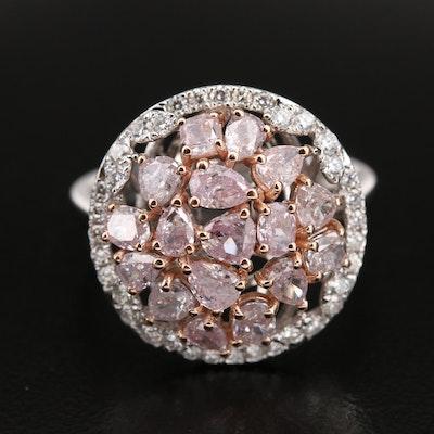 18K 2.54 CTW Diamond Ring