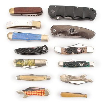 Boker, Case, Remington, and Other Folding Knives