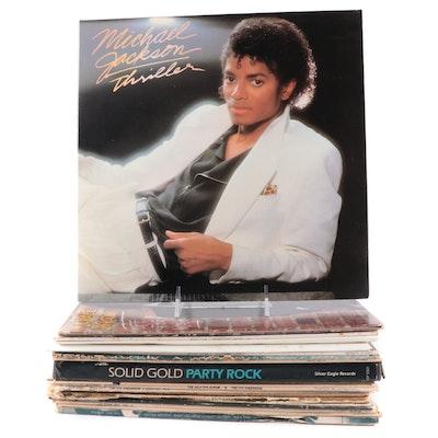 Michael Jackson, Tina Turner, Otis Redding and Other R&B and Pop Records