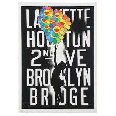 "Death NYC Pop Art Graphic Print ""AC10,"" 2020"
