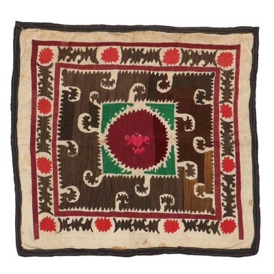 Handmade Central Asian Embroidered Wall Hanging
